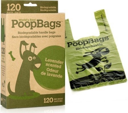 biodegradable poopbags 環保拾便背心袋 120入 1