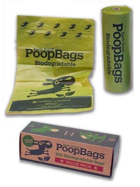biodegradable poopbags 環保拾便袋 300入 1