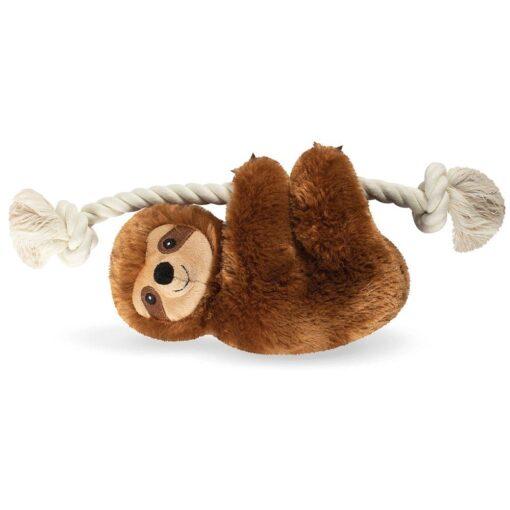 brown sloth 咖啡色樹懶繩結玩具 1