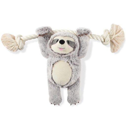 girly sloth 灰色樹懶繩結玩具 1