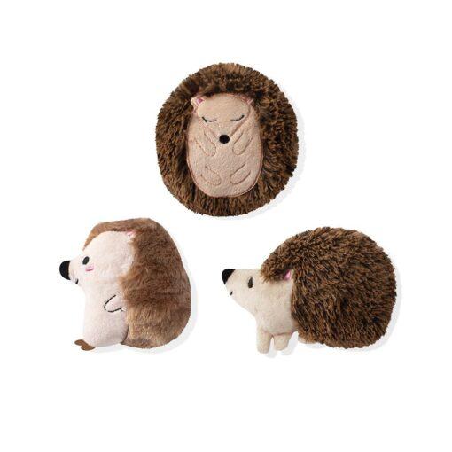 hedgehogs mini 刺蝟迷你玩具 3入 1