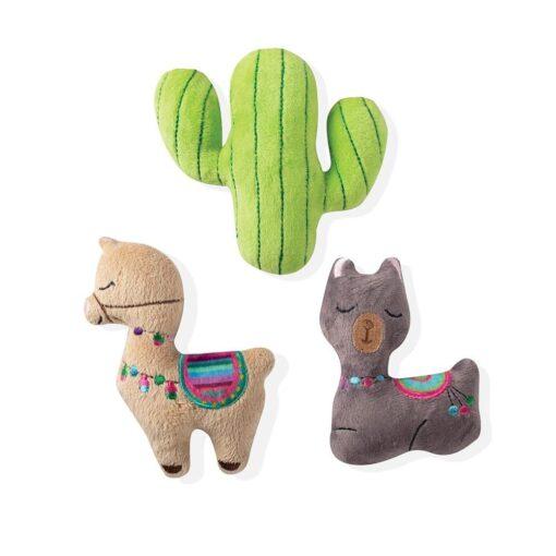 llama cactus minii 羊駝仙人掌迷你玩具 3入 1