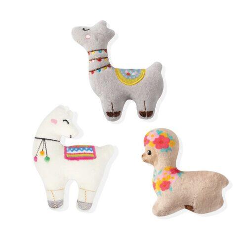 llama love mini 羊駝迷你玩具 3入 1