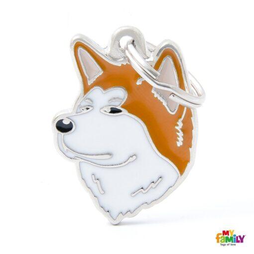 my family 名牌 x 客製化 柴犬 1