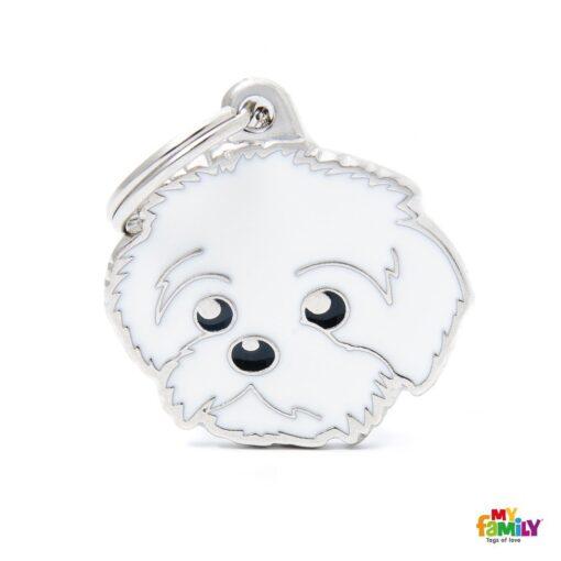 my family 名牌 x 客製化 波洛尼亞犬 1