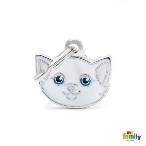 my family 名牌 x 客製化 白歐洲短毛貓 1