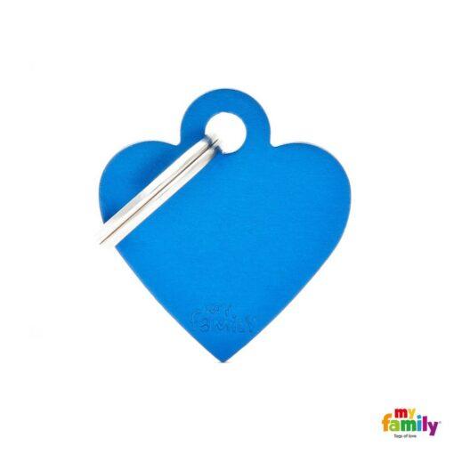 my family 名牌 x 客製化 藍色小心 1