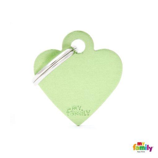 my family 名牌 x 客製化 蘋果綠小心 1