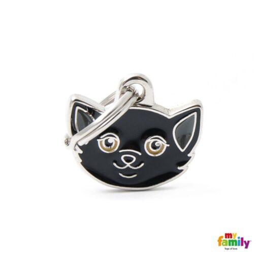 my family 名牌 x 客製化 黑歐洲短毛貓 1