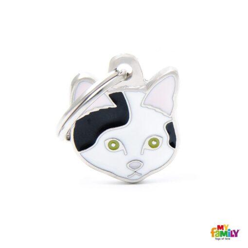 my family 名牌 x 客製化 黑白歐洲短毛貓 1