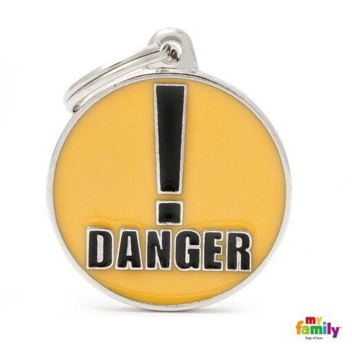 my family 名牌 x 客製化 danger 危險 1