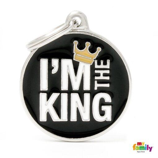 my family 名牌 x 客製化 i am the king 我是國王 1