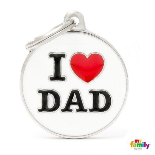 my family 名牌 x 客製化 i love dad 1