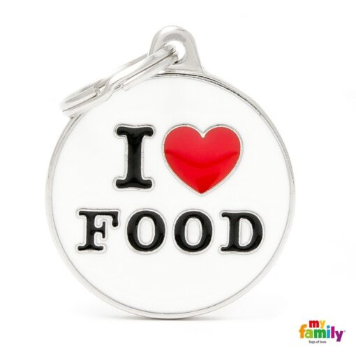 my family 名牌 x 客製化 i love food 1
