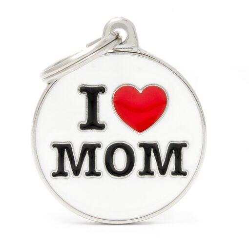 my family 名牌 x 客製化 i love mom 1