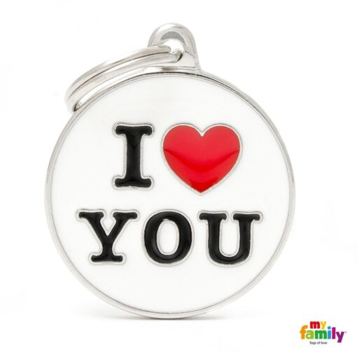 my family 名牌 x 客製化 i love you 1