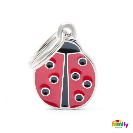 my family 名牌 x 客製化 ladybug 瓢蟲 1
