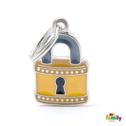 my family 名牌 x 客製化 padlock 鎖頭 1