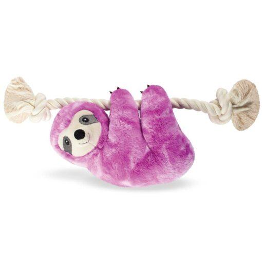 purple sloth 紫色樹懶繩結玩具 1