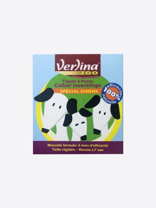 verlina 法國芬綠寧 天然驅蚤項圈 1 1