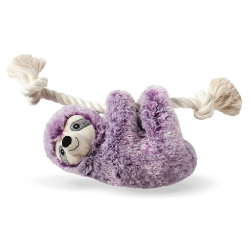 violet sloth 淺紫色樹懶繩結玩具 1